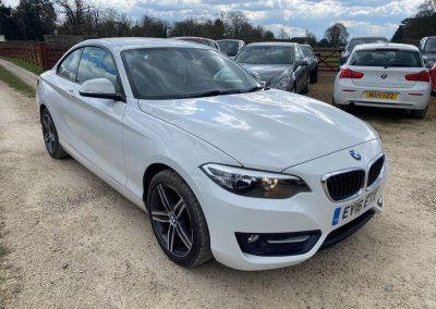 BMW 2 Series 2016 2.0 220d Sport Auto (s/s) 2dr