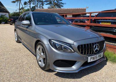 Mercedes C Class 2015 2.1 C300dh BlueTEC AMG Line – £11,495