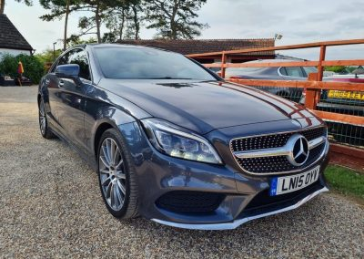 Mercedes CLS 2015 2.1 CLS220 CDi Blue AMG line – £14,695
